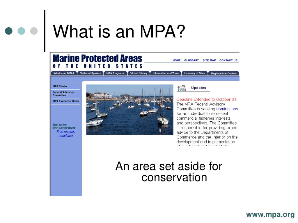 What is an MPA?
