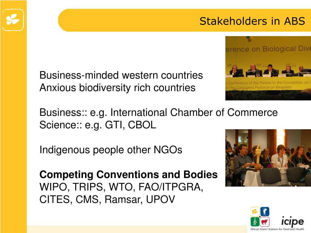 Stakeholders in ABS