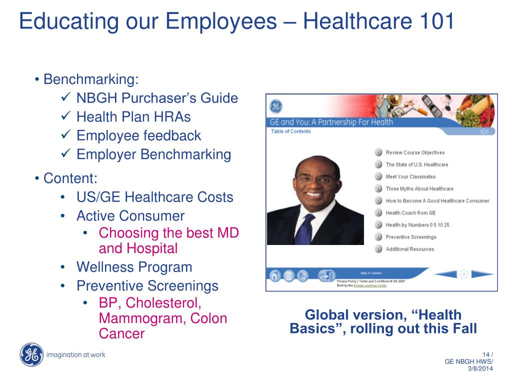 Educating our Employees – Healthcare 101