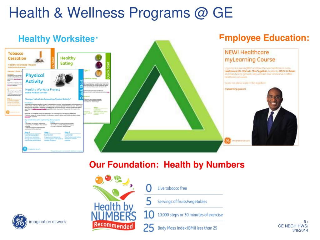 Health & Wellness Programs @ GE