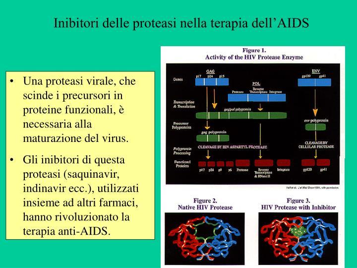 Inibitori delle proteasi nella terapia dell'AIDS