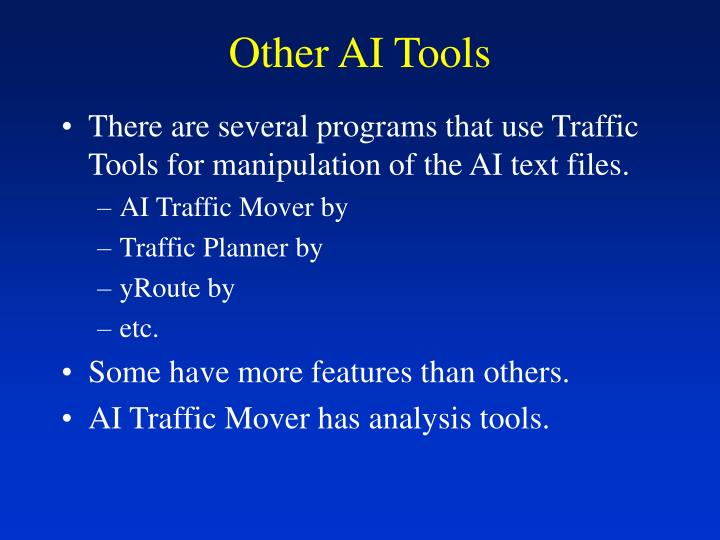 Other AI Tools