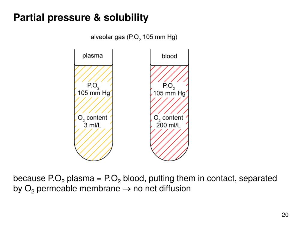 Partial pressure & solubility