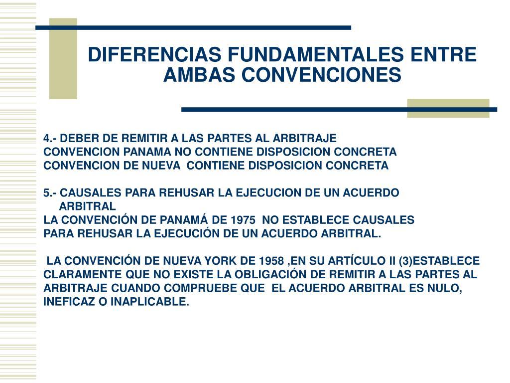 DIFERENCIAS FUNDAMENTALES