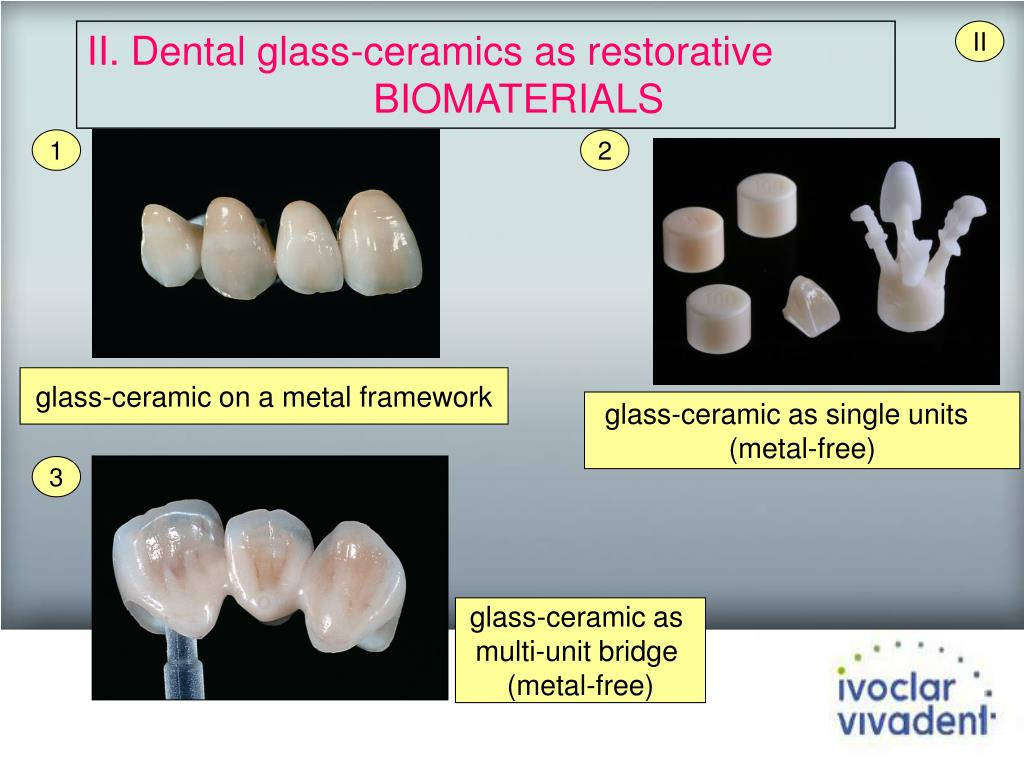 II. Dental glass-ceramics as restorative