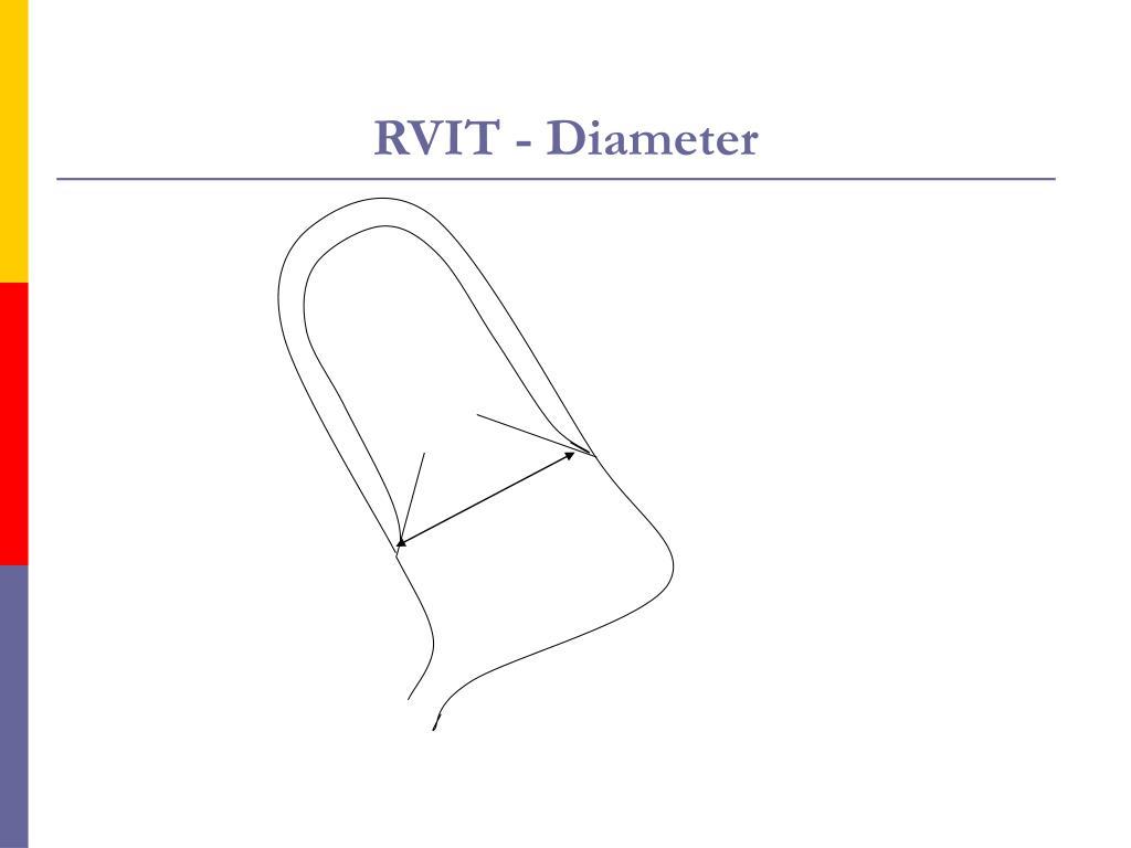 RVIT - Diameter