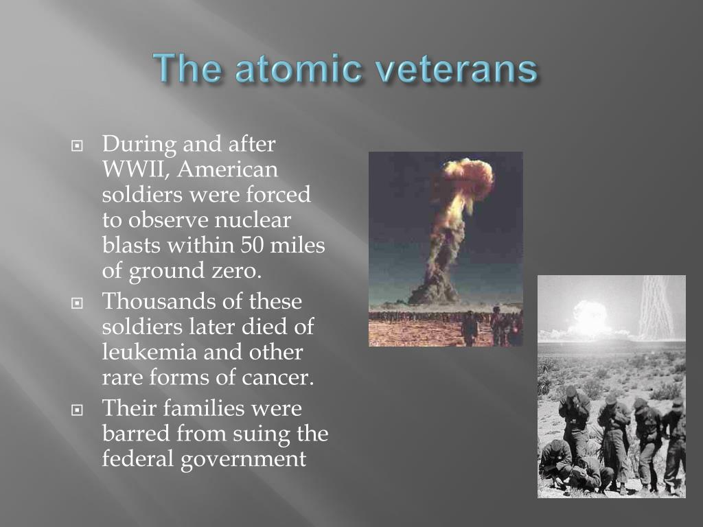 The atomic veterans