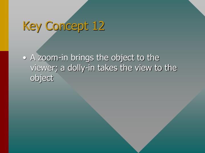 Key Concept 12