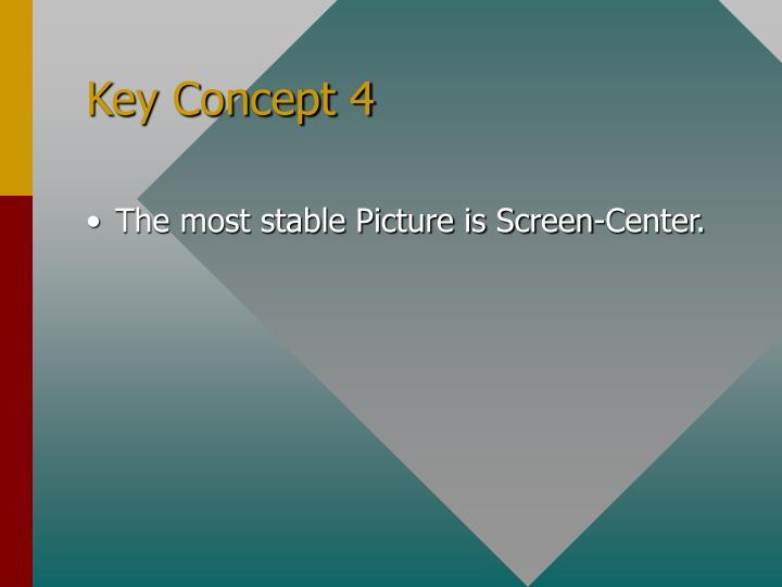 Key Concept 4