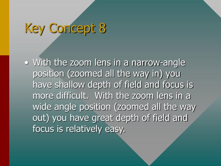 Key Concept 8