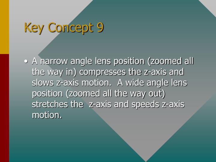 Key Concept 9