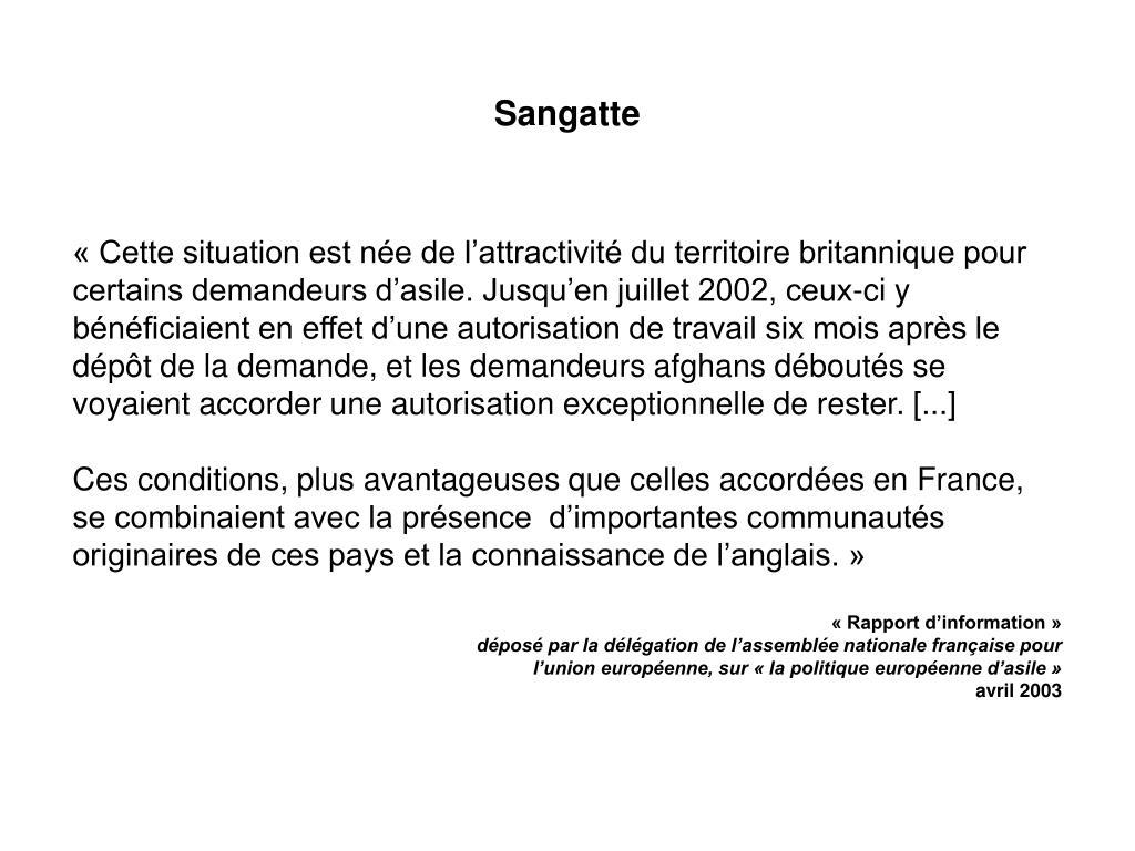 Sangatte