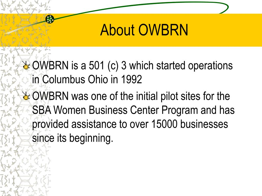 About OWBRN