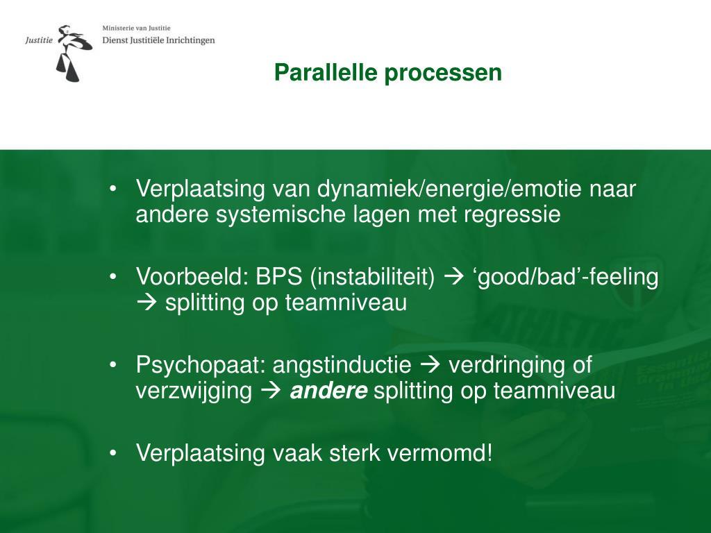 Parallelle processen