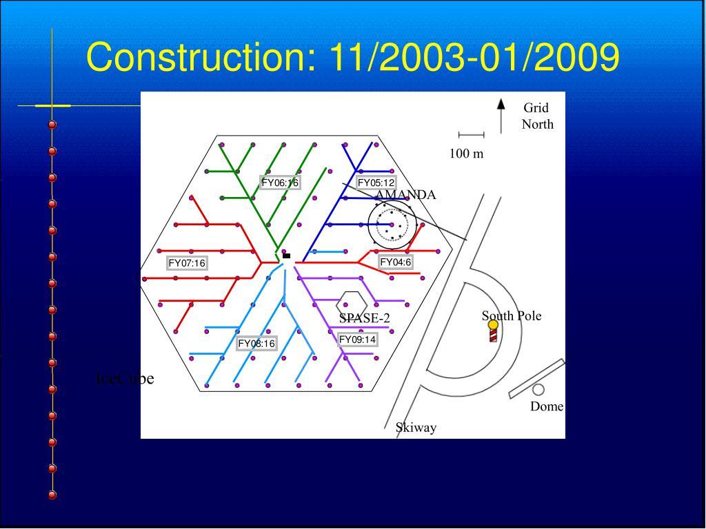 Construction: 11/2003-01/2009