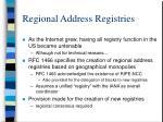 regional address registries