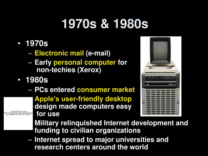 1970s & 1980s