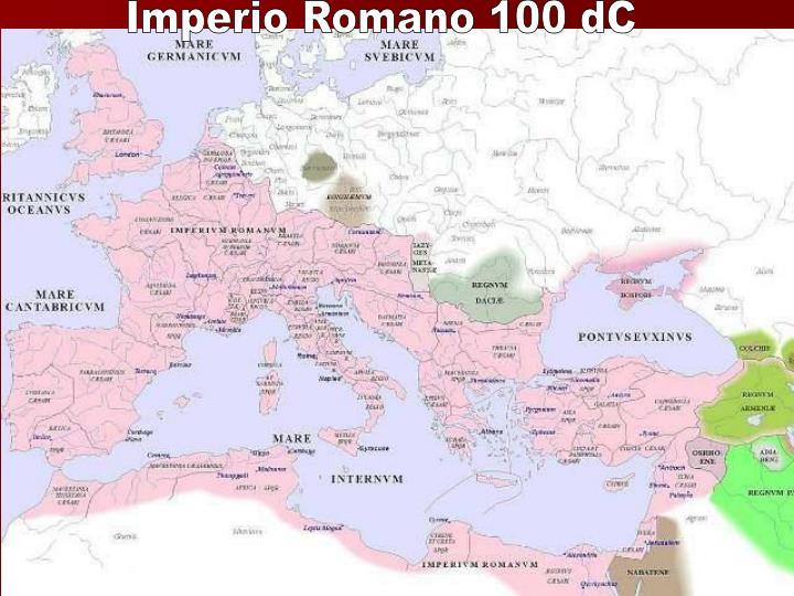 Imperio Romano 100 dC