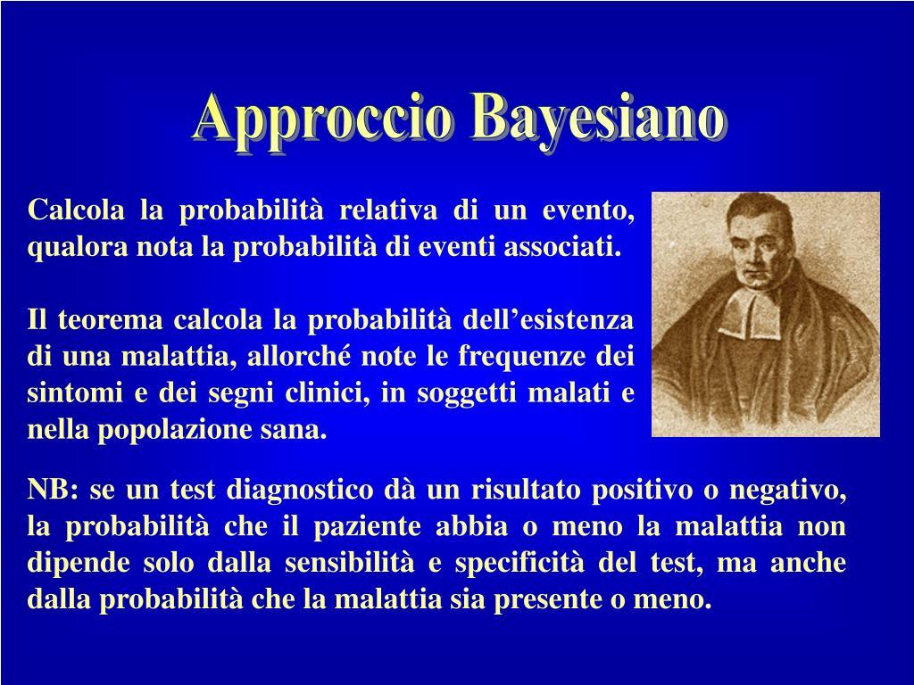Approccio Bayesiano