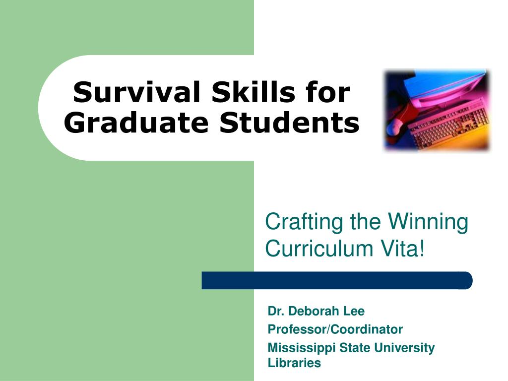 survival skills for graduate students