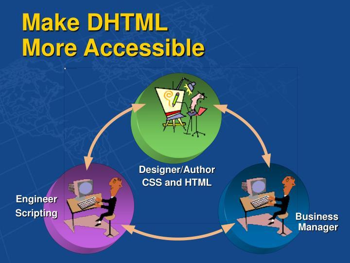 Make DHTML