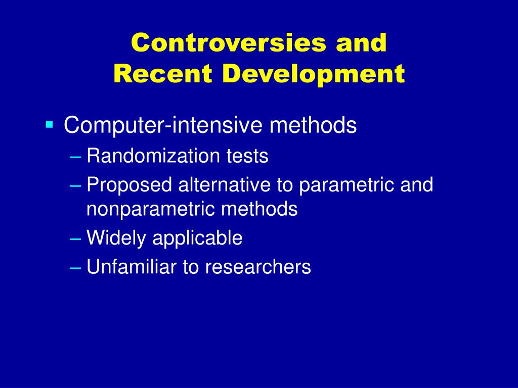 Controversies and