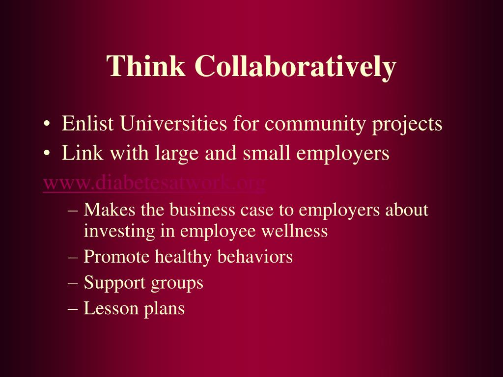 Think Collaboratively