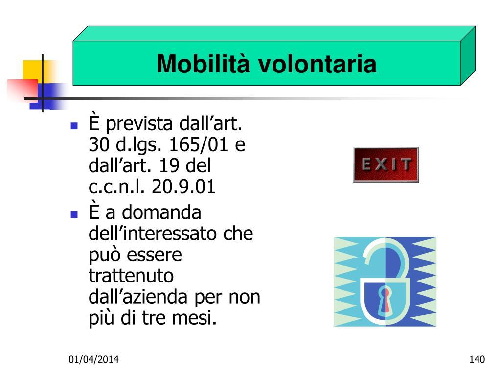 Mobilità volontaria