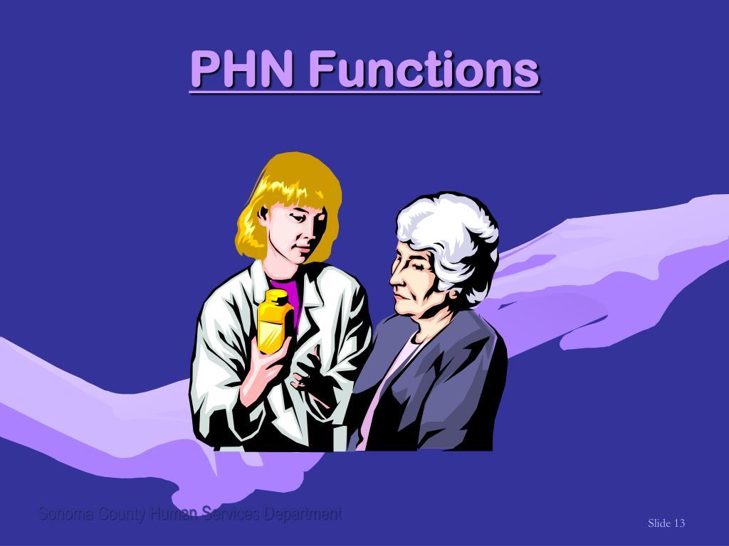 PHN Functions