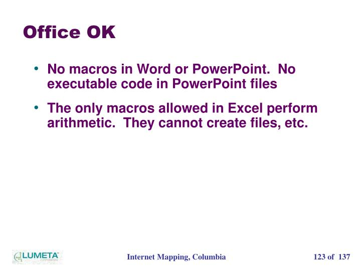 Office OK