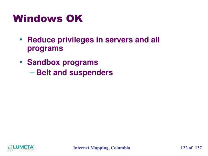 Windows OK