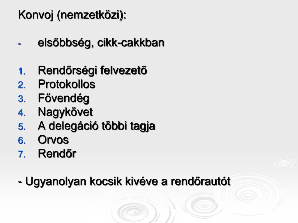 Konvoj (nemzetközi):