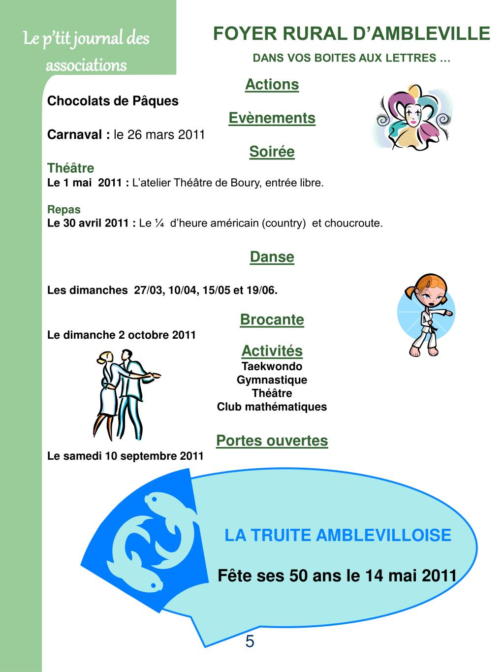 Le p'tit journal des associations
