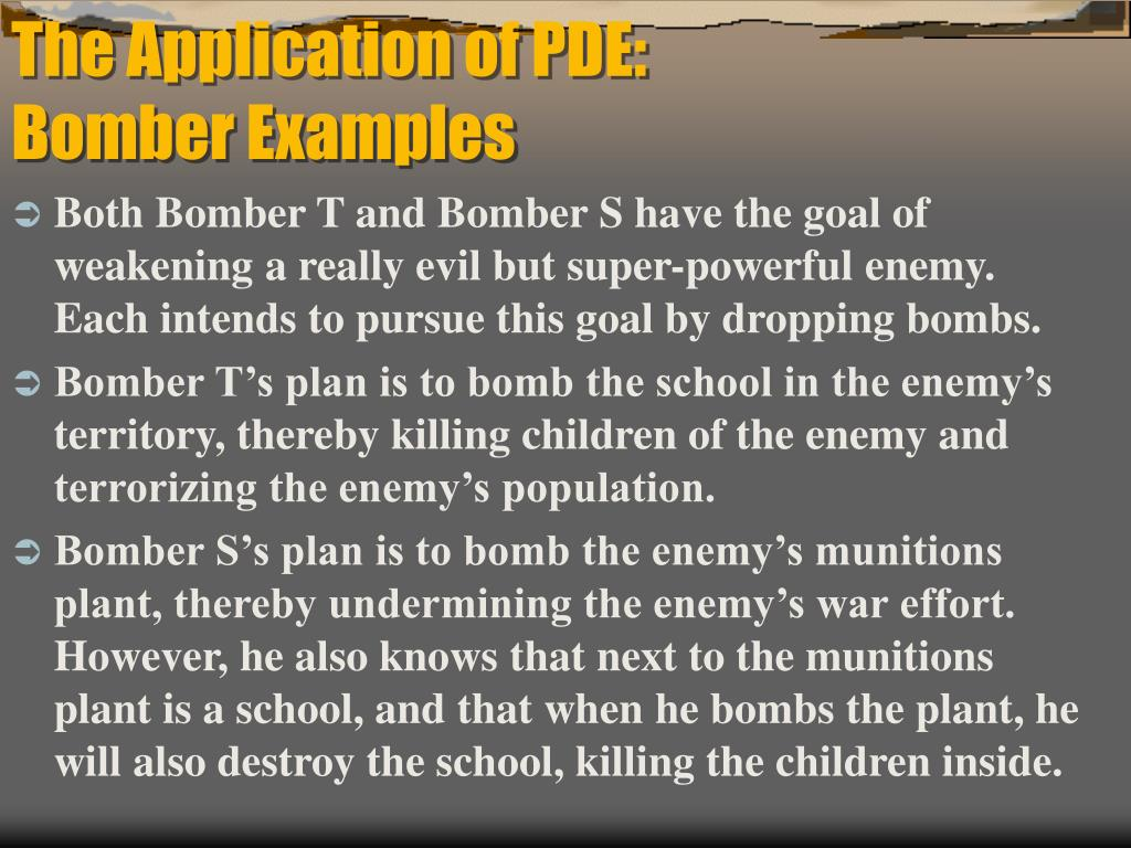 The Application of PDE: