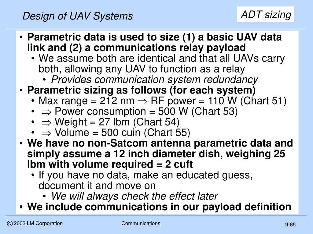Design of UAV Systems