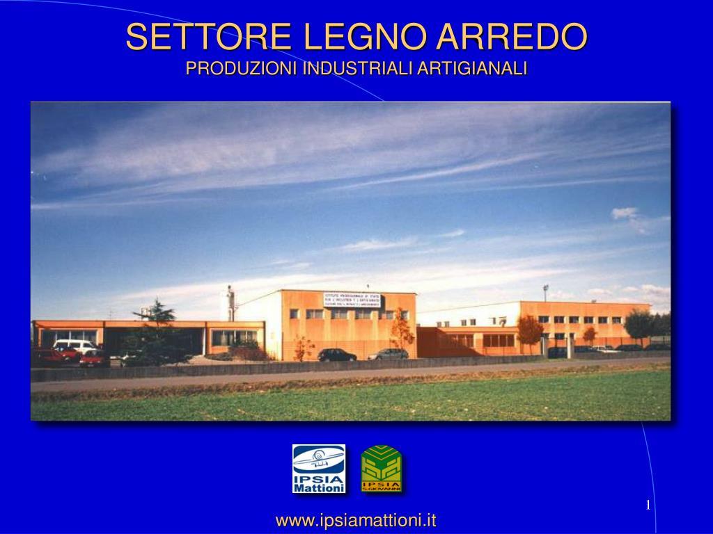 SETTORE LEGNO ARREDO