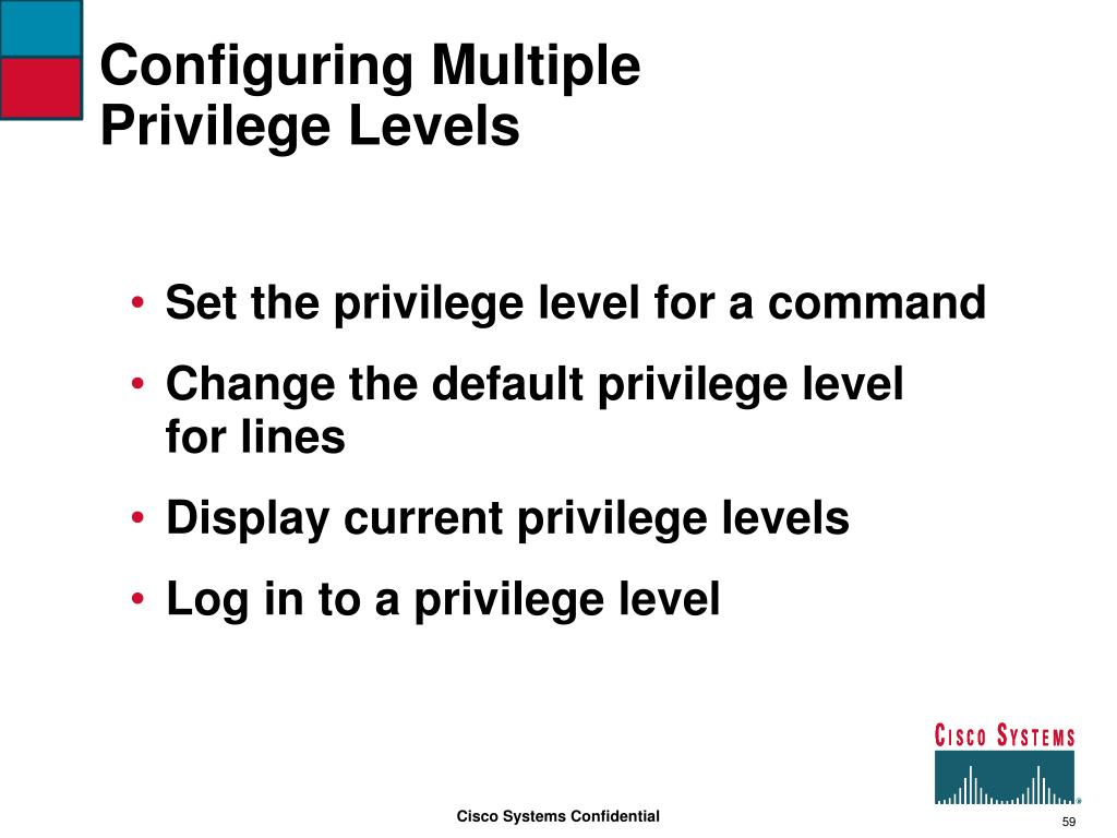 Configuring Multiple