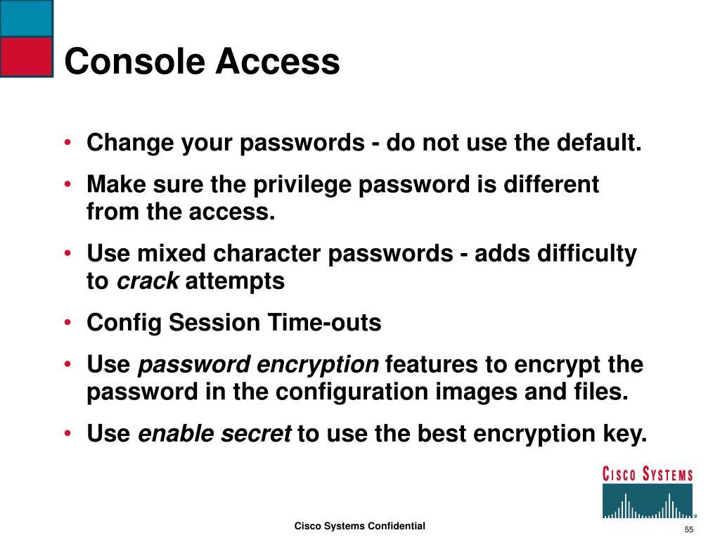 Console Access
