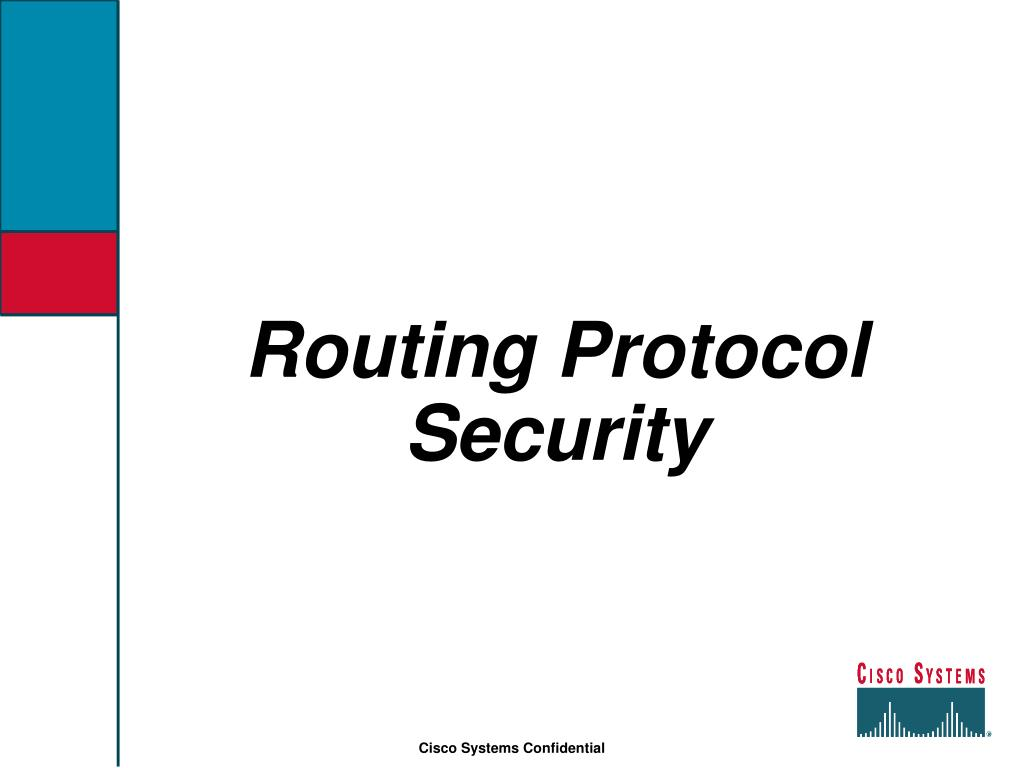 Routing Protocol Security