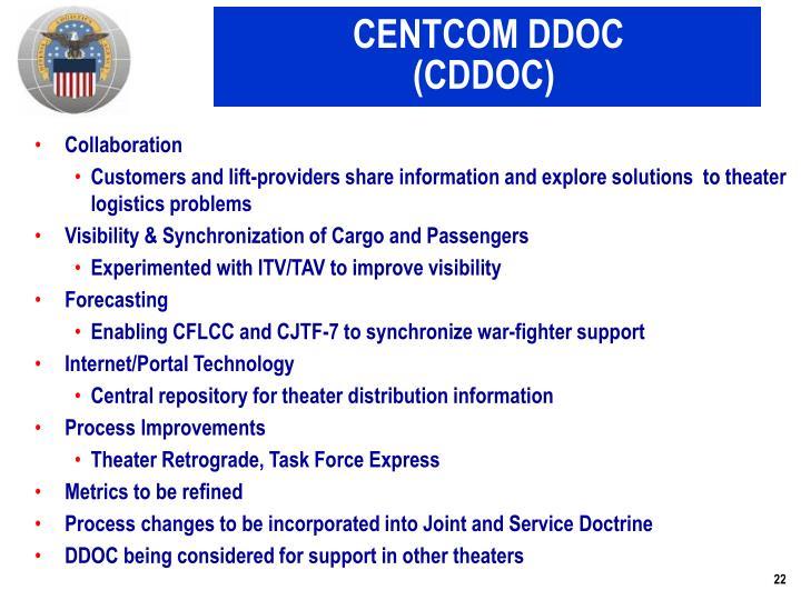 CENTCOM DDOC