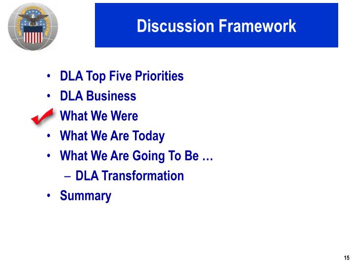 Discussion Framework