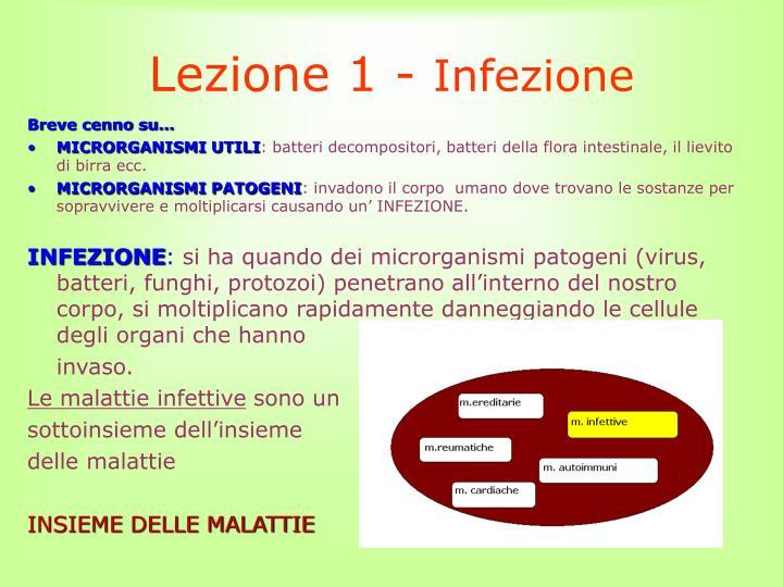 Lezione 1 -