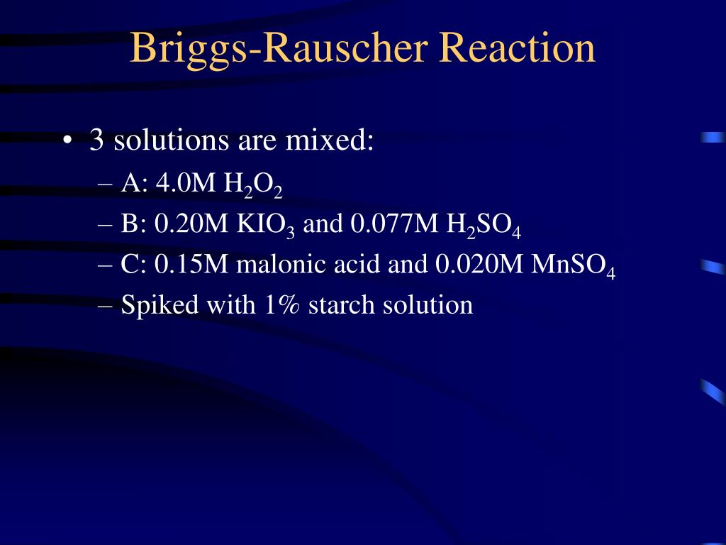 ex11 oscillating chemical reaction Introduction to chemical reaction kinetics fundamental concepts: rate laws, elementary reactions and composite reactions, molecularity, reaction order.