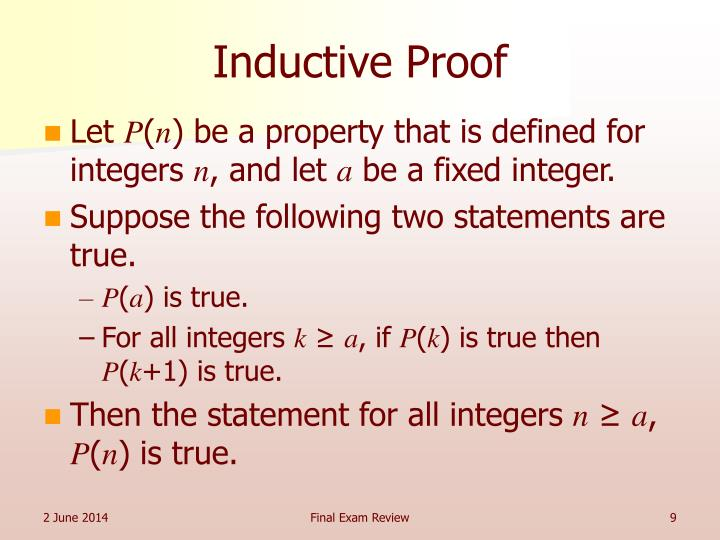 Inductive Proof