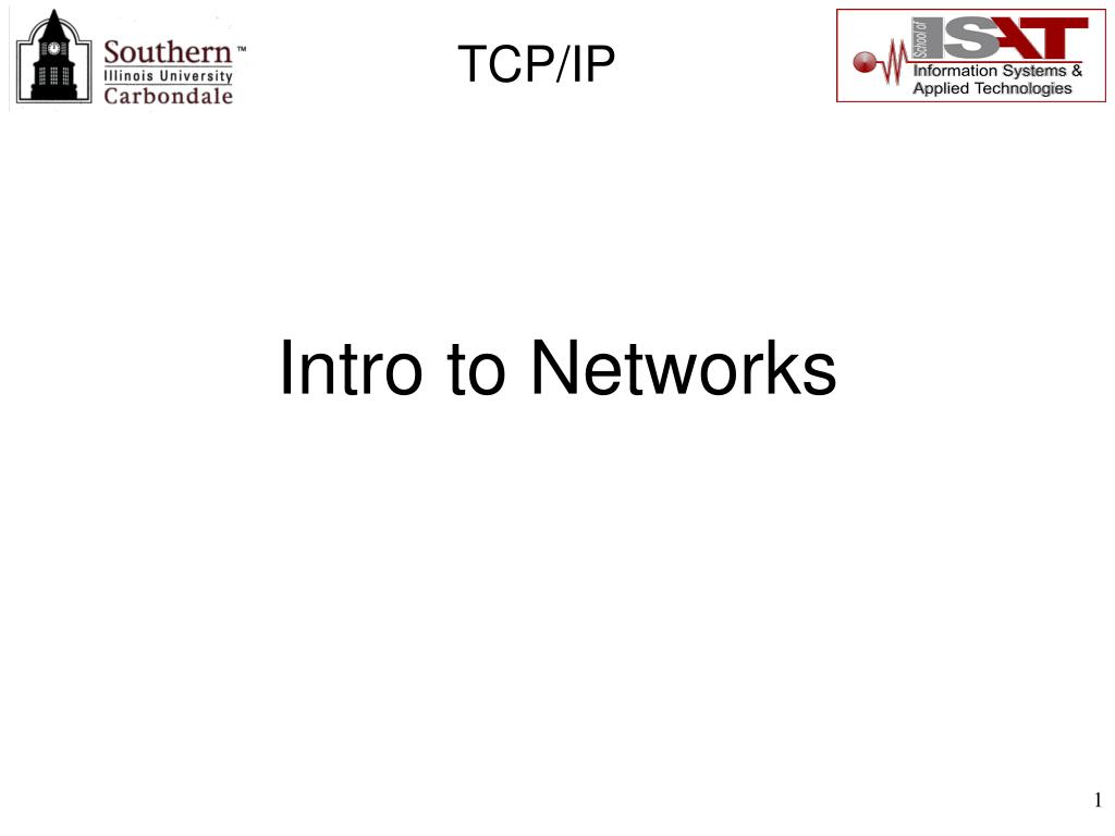 Intro to Networks