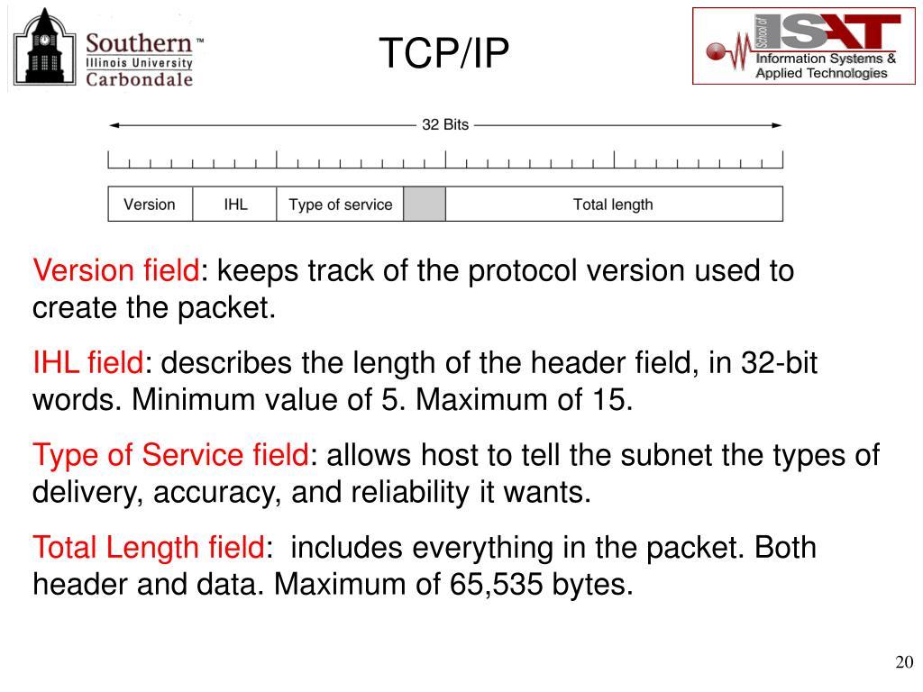 Version field