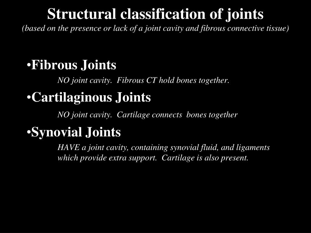 Structural classification of
