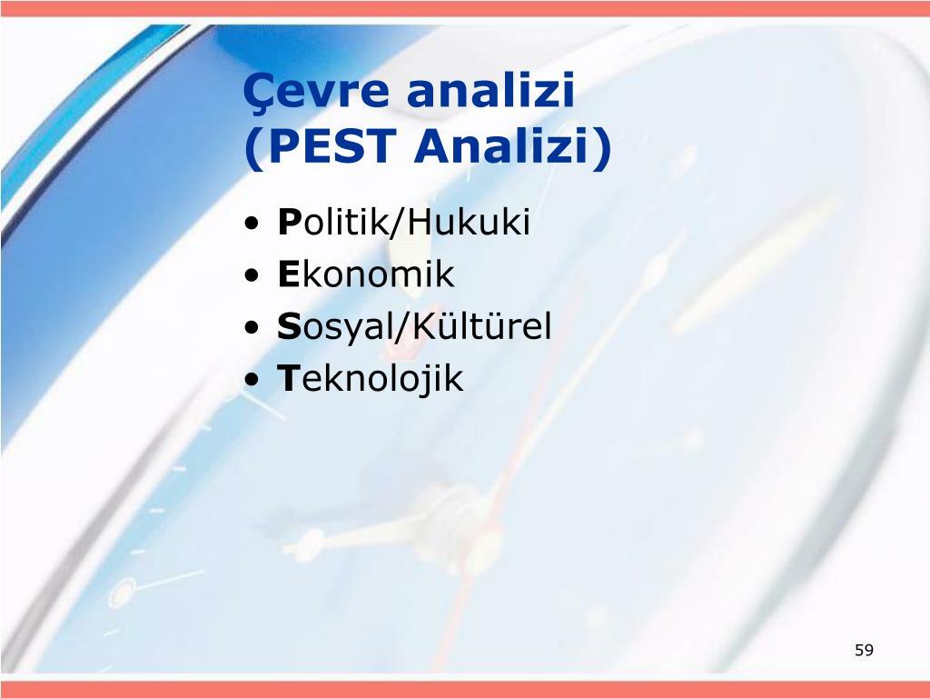 Çevre analizi