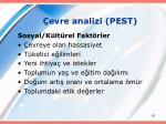evre analizi pest62