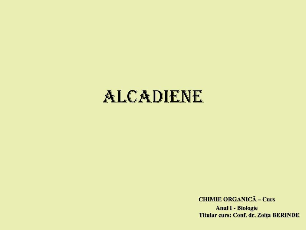 ALCADIENE